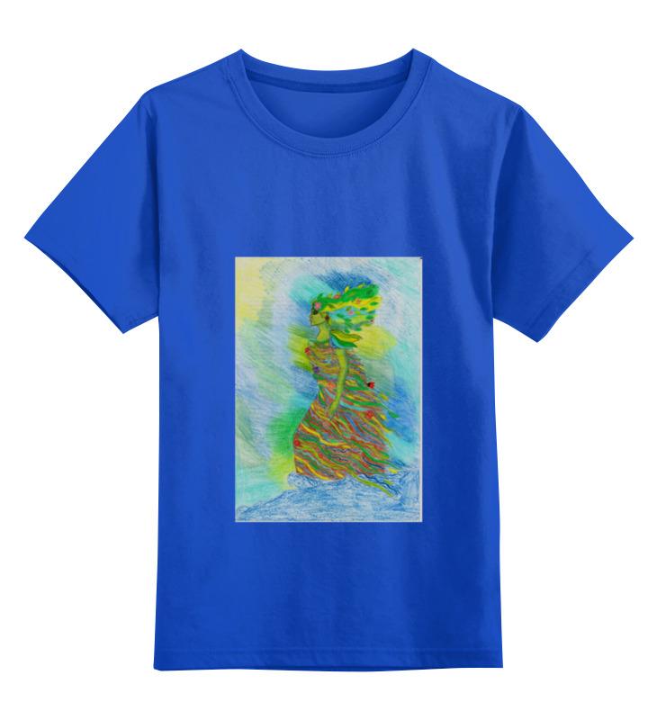 Детская футболка классическая унисекс Printio Мать -земля