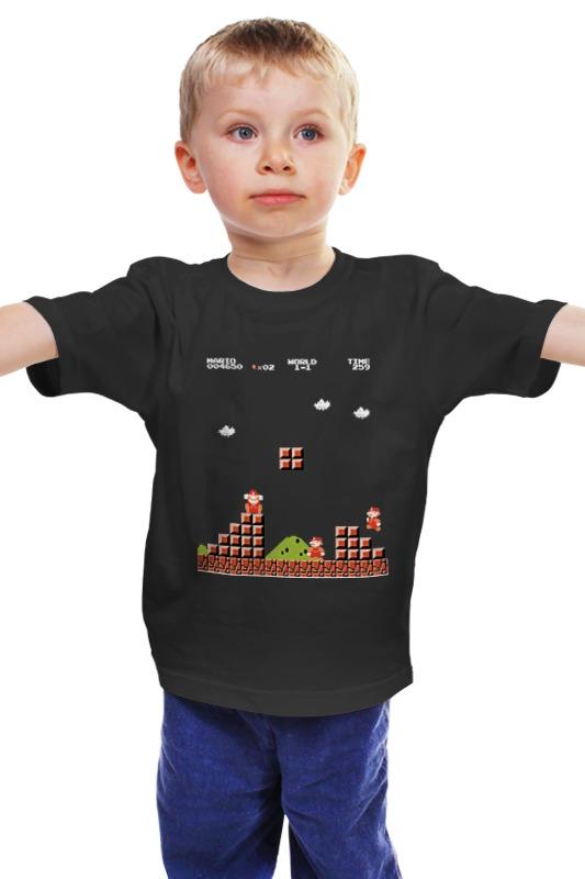 Детская футболка классическая унисекс Printio Супер марио детская футболка классическая унисекс printio игровая приставка денди