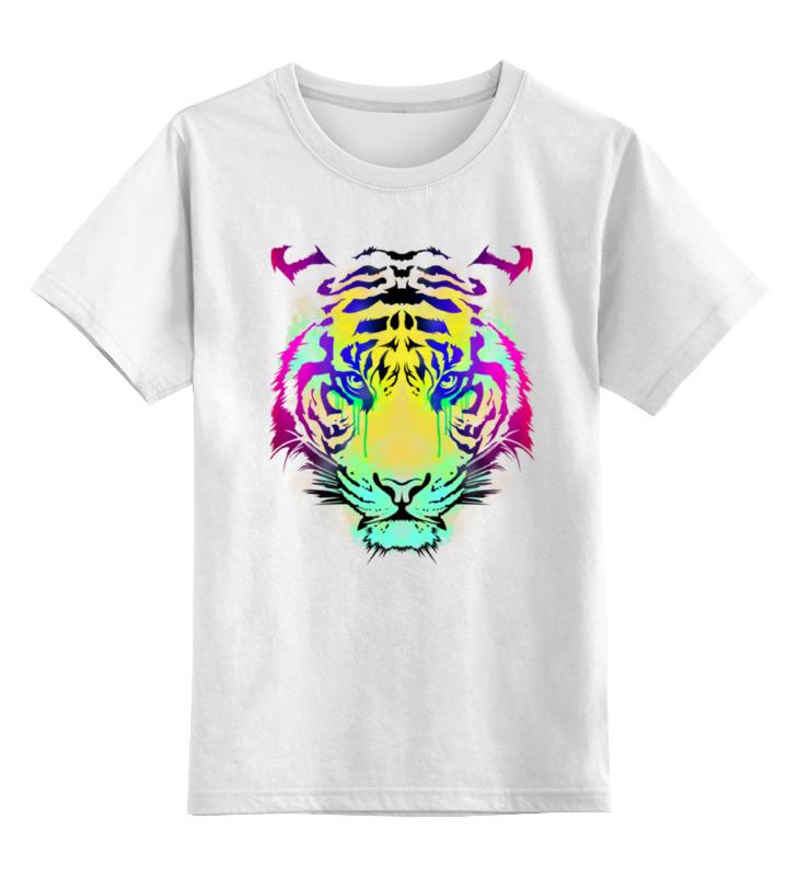 Printio Тигр абстракция детская футболка классическая унисекс printio одноглазый тигр