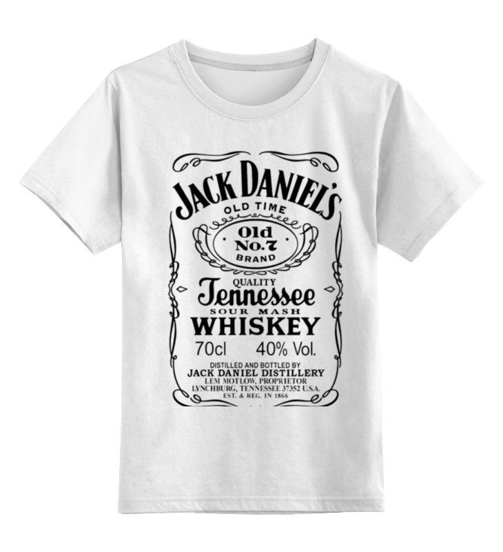 Детская футболка классическая унисекс Printio Jack daniels детская футболка классическая унисекс printio jack daniels