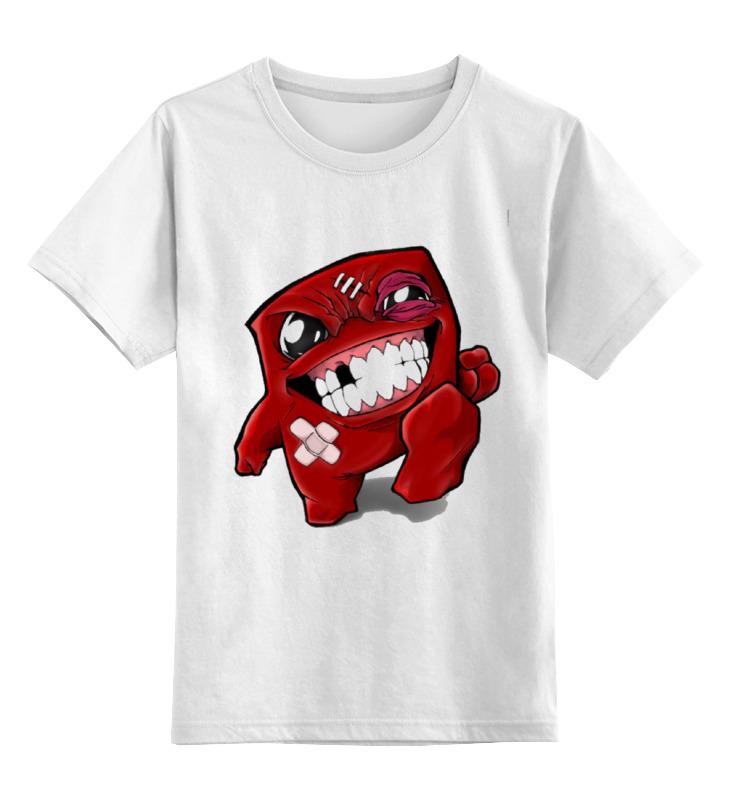 Детская футболка классическая унисекс Printio Super meat boy super meat boy [pc цифровая версия] цифровая версия