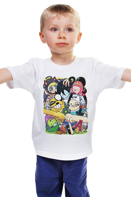 Детская футболка классическая унисекс Printio Adventure time детская футболка классическая унисекс printio комиксы