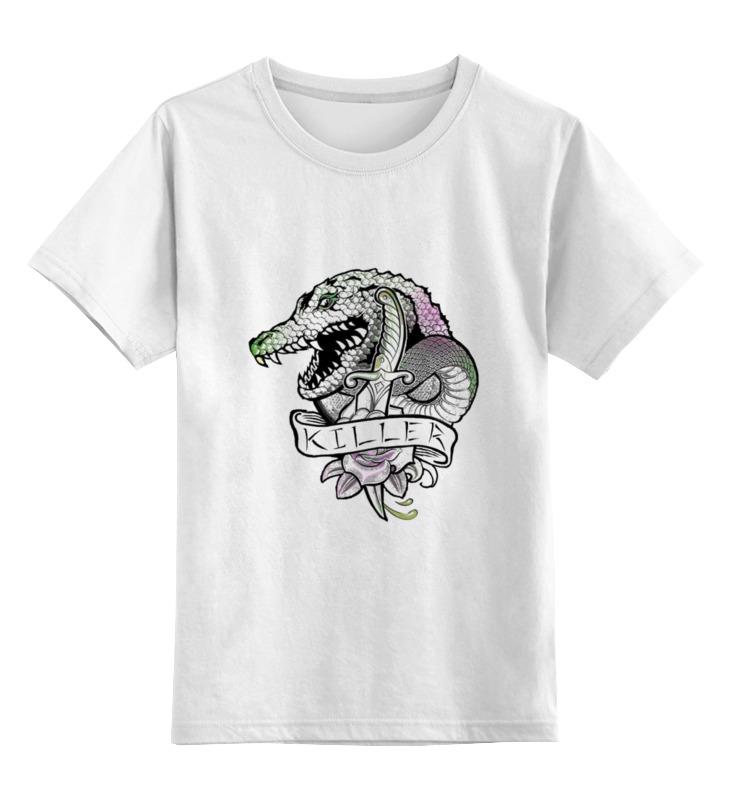 Детская футболка классическая унисекс Printio Убийца крок dc comics фигурка металлическая killer croc alt 10 см