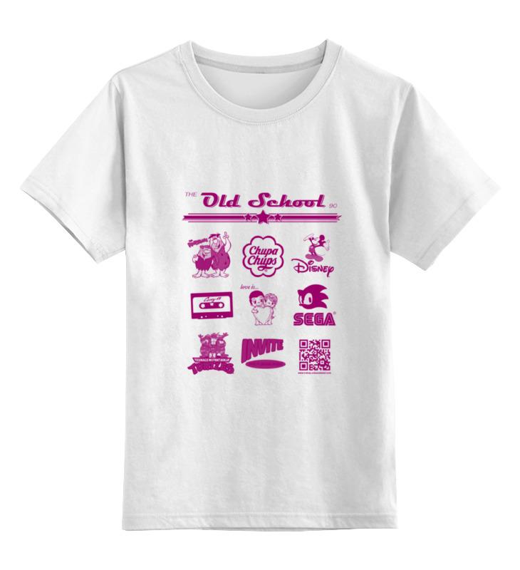 Детская футболка классическая унисекс Printio the old school 90 series the little old lady in saint tropez