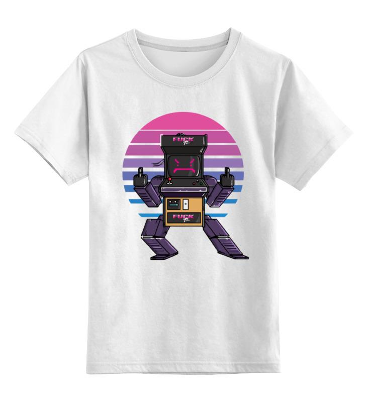Детская футболка классическая унисекс Printio Игровой автомат цена