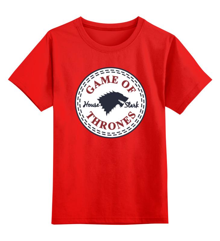 Детская футболка классическая унисекс Printio Дом старков (игра престолов) детская футболка классическая унисекс printio дом без собаки не дом