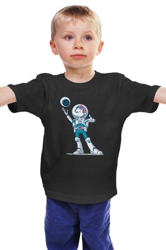 Детская футболка классическая унисекс Printio Astroboy / астронавт