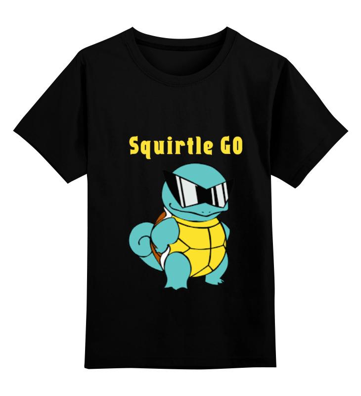 все цены на Детская футболка классическая унисекс Printio Pokemon squirtle онлайн