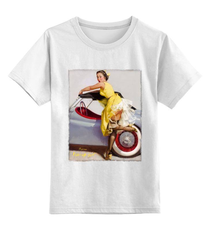 Детская футболка классическая унисекс Printio Pin-up girl