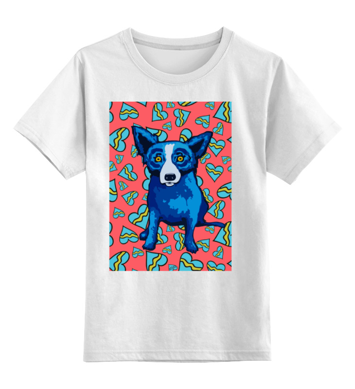 Printio Синий пес детская футболка классическая унисекс printio пес на доске
