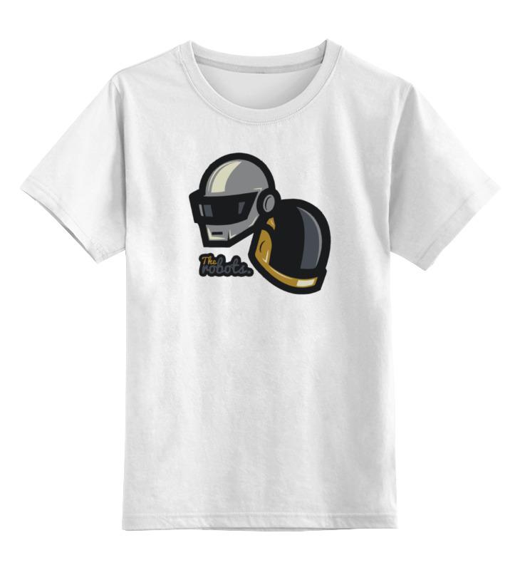 Детская футболка классическая унисекс Printio Daft punk валентин пикуль николаевские монте кристо