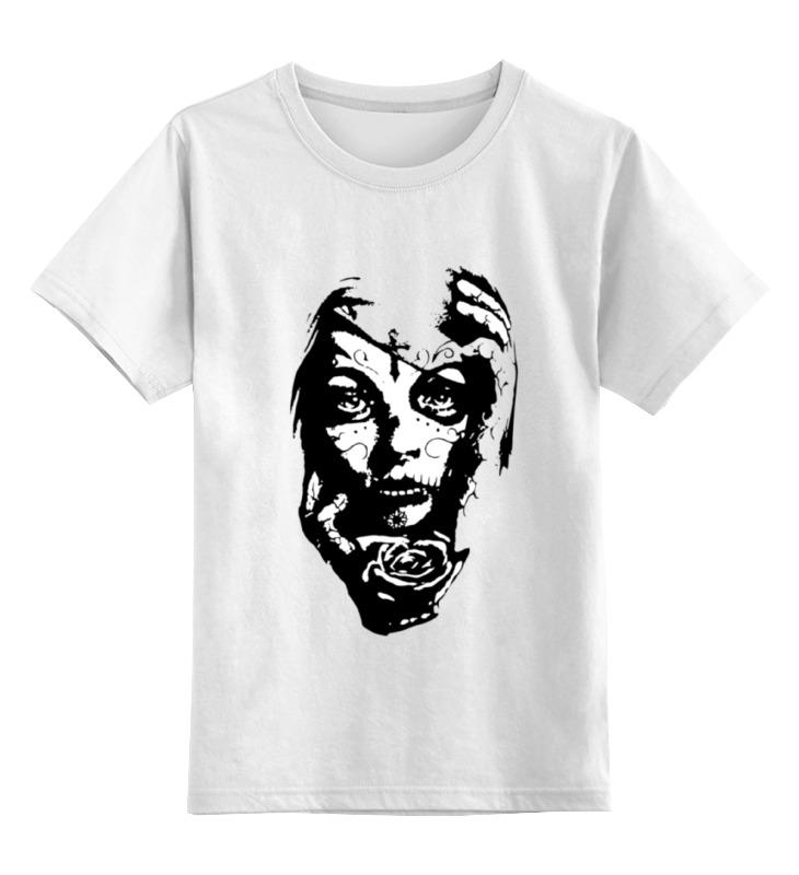 Детская футболка классическая унисекс Printio Day of the dead (день мертвых) толстовка wearcraft premium унисекс printio day of the dead день мертвых