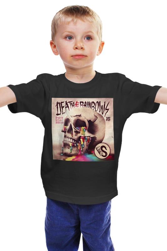 Детская футболка классическая унисекс Printio Death & rainbows детская футболка классическая унисекс printio death