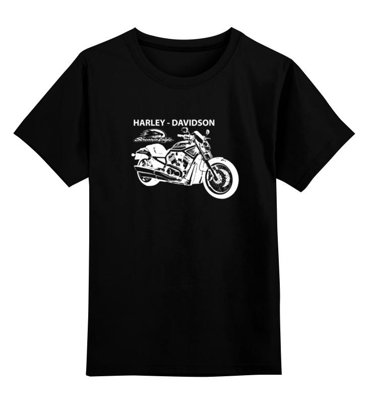 Детская футболка классическая унисекс Printio Harley-davidson / харлей детская футболка классическая унисекс printio harley davidson харлей дэвидсон