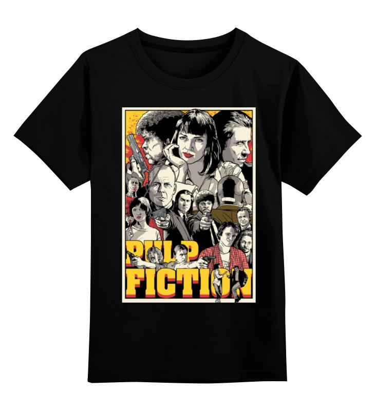 Детская футболка классическая унисекс Printio Криминальное чтиво(pulp fiction) цена и фото