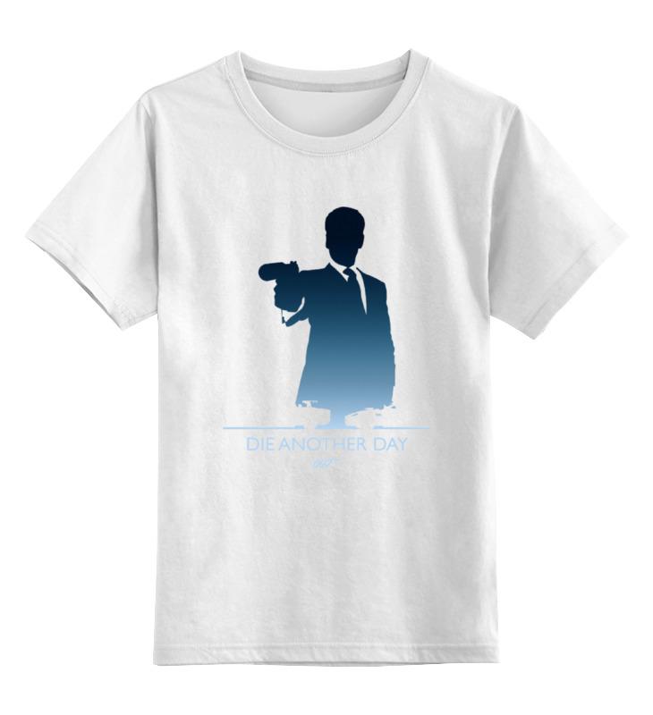 Детская футболка классическая унисекс Printio 007: умри, но не сейчас степ пазл пазл step puzzle винни пух 560 элементов