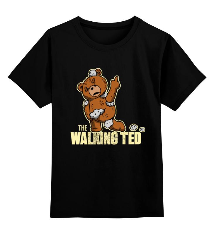 Детская футболка классическая унисекс Printio Ted zombie футболка wearcraft premium printio ted pss