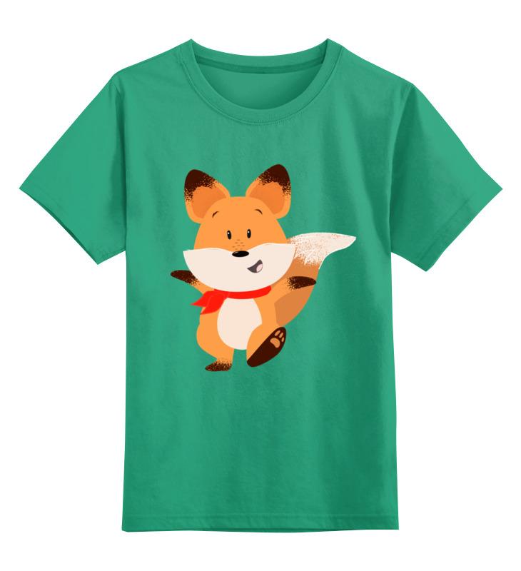 Детская футболка классическая унисекс Printio Лисичка детская футболка классическая унисекс printio классическая футболка dota 2