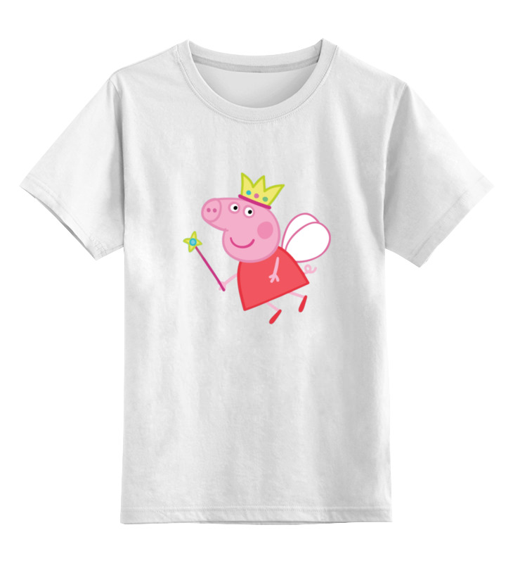 Детская футболка классическая унисекс Printio Свинка пеппа свинка пеппа пакет подарочный пеппа на каникулах