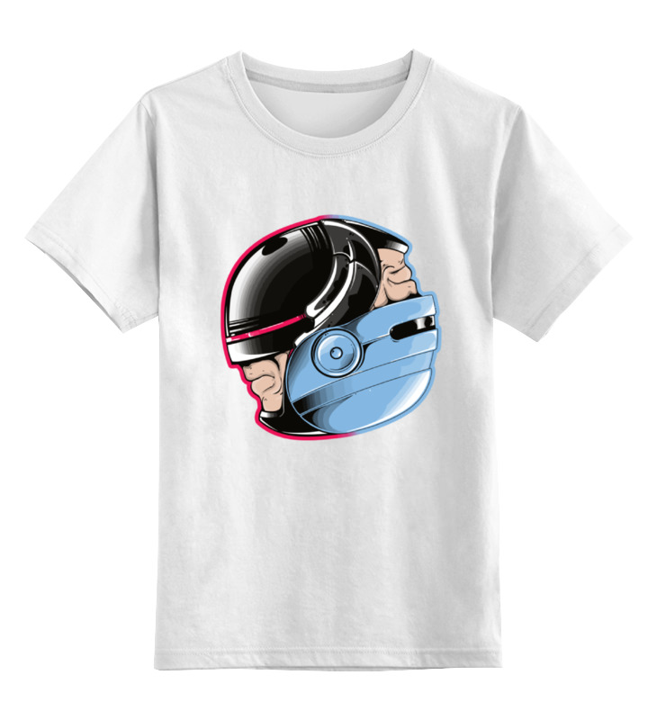 Детская футболка классическая унисекс Printio Робокоп (robocop) lamtop 100