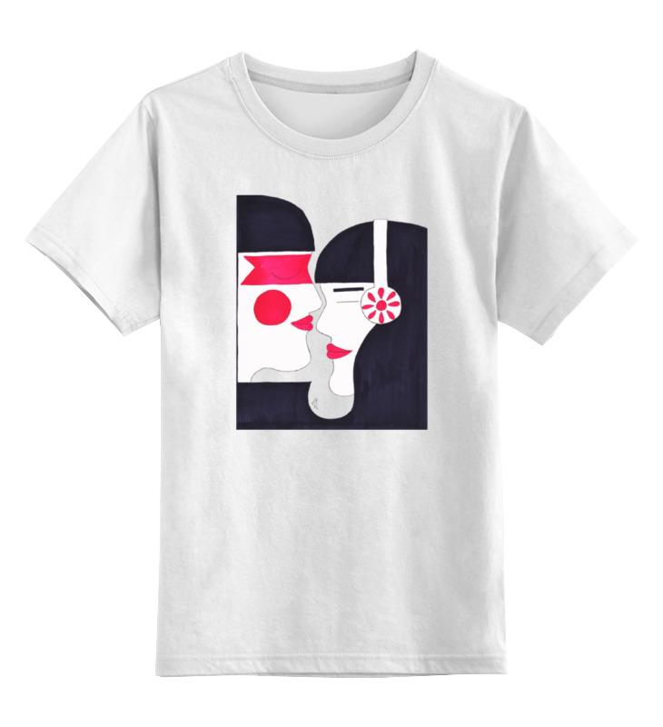 Детская футболка классическая унисекс Printio Двое и музыка