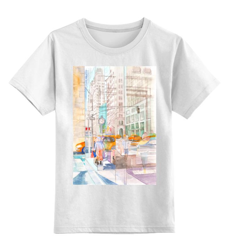 Детская футболка классическая унисекс Printio Отражение в стеклах нью йорка ii детская футболка классическая унисекс printio отражение в стеклах нью йорка ii