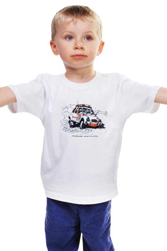 Детская футболка классическая унисекс Printio Автомобиль citroen 2cv rally футболка классическая printio 62 2% в саратове