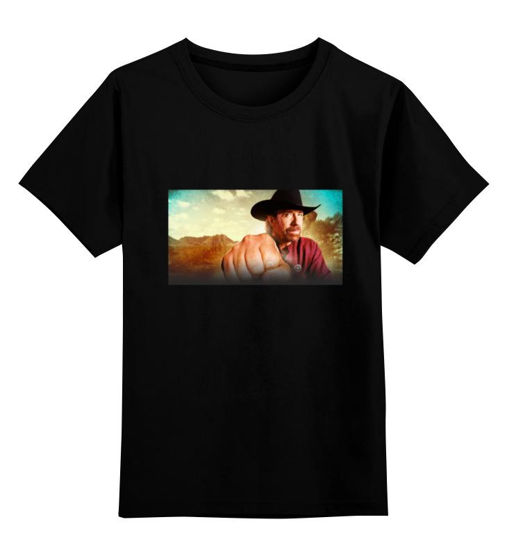 Детская футболка классическая унисекс Printio Chuck norris