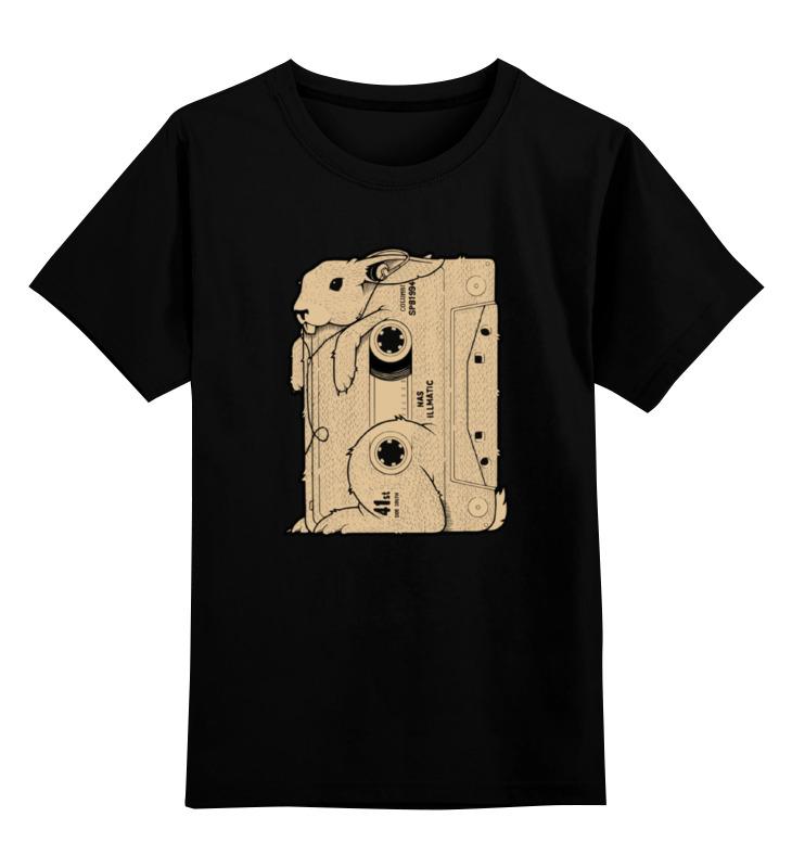 Детская футболка классическая унисекс Printio Rabbit cool mix / крутой кроличий микс