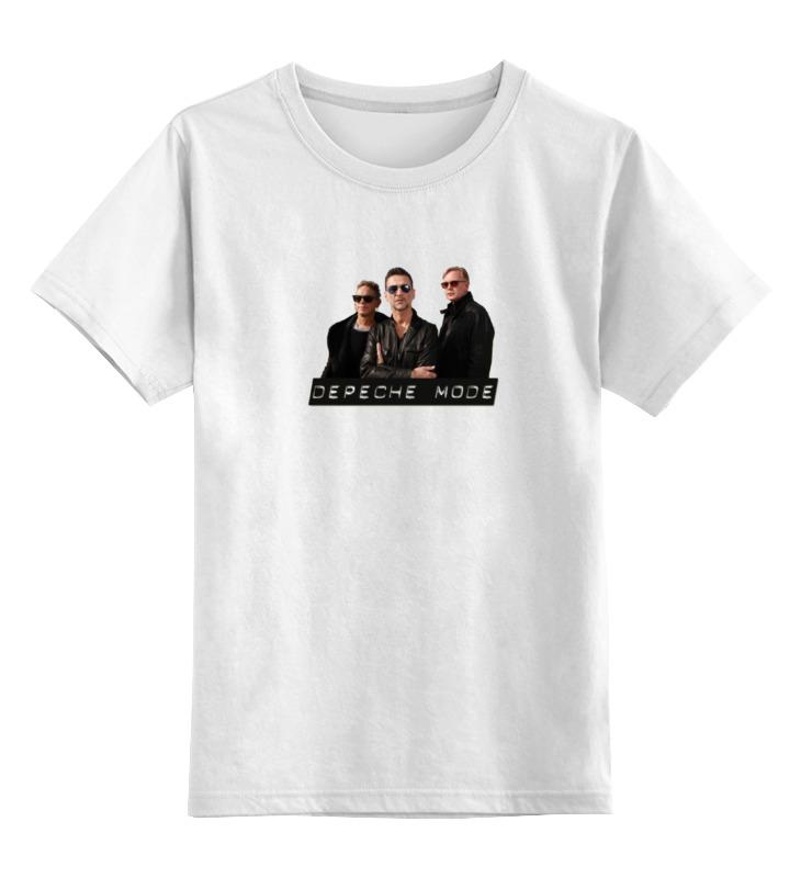 Детская футболка классическая унисекс Printio Depeche mode - the band футболка классическая printio the black keys