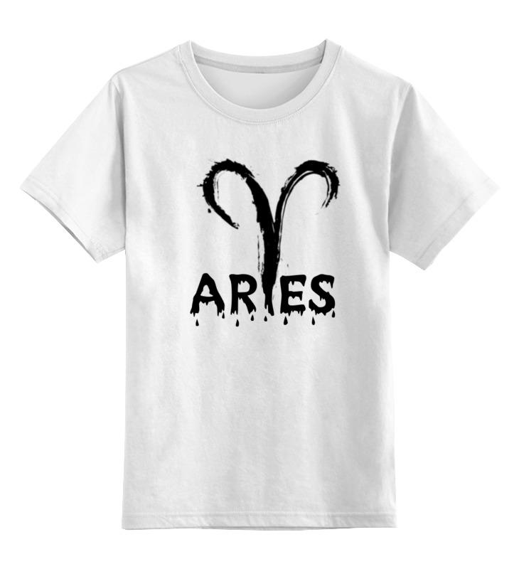 Детская футболка классическая унисекс Printio Овен. цена 2017