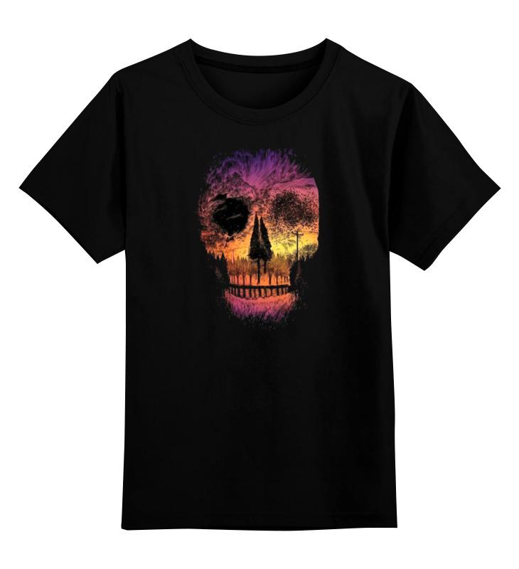 Детская футболка классическая унисекс Printio Skull style детская футболка классическая унисекс printio skull trooper