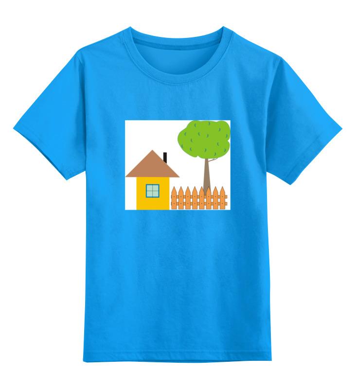 Детская футболка классическая унисекс Printio Ьаьушкин ик