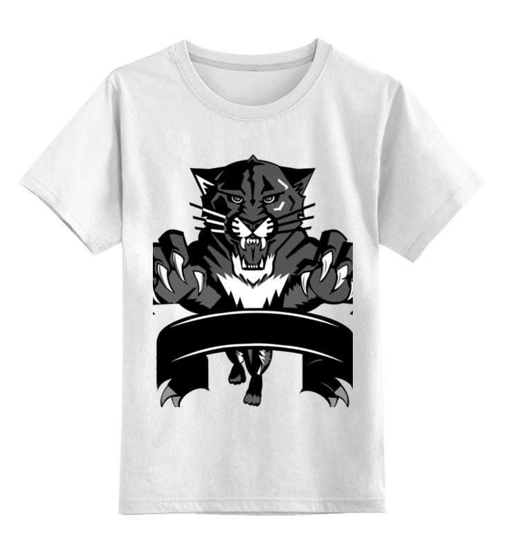 Детская футболка классическая унисекс Printio Чёрный тигр футболка классическая printio gta 5 dog
