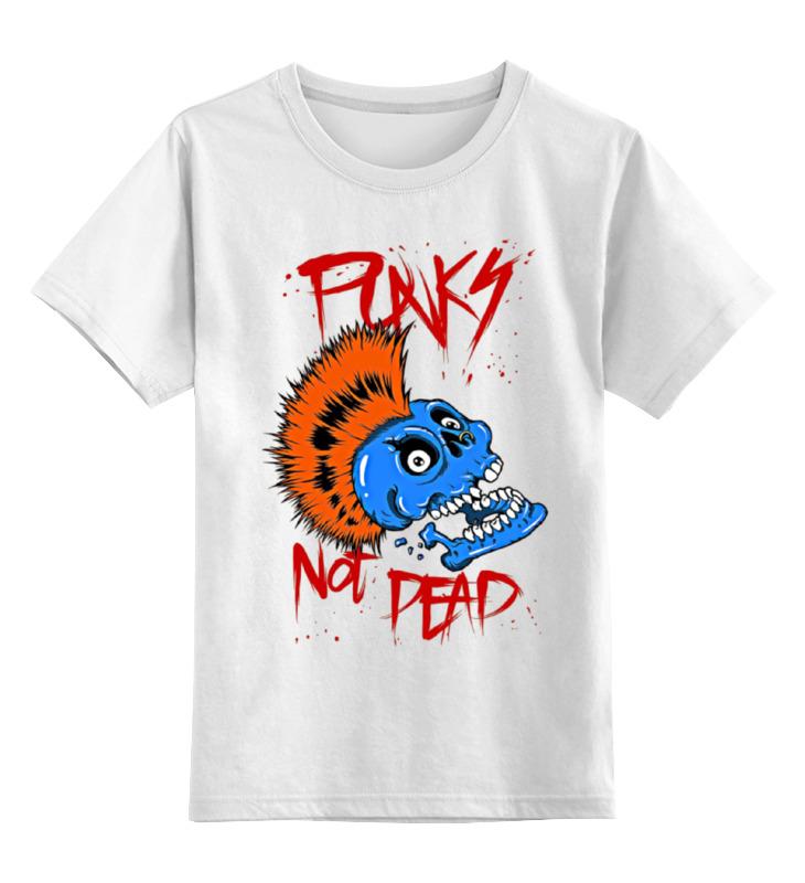 Детская футболка классическая унисекс Printio Punks not dead детская футболка классическая унисекс printio dead pool