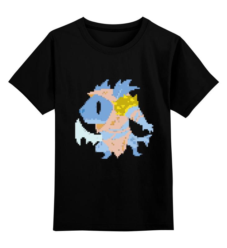 Детская футболка классическая унисекс Printio Фан арт сларк пиксели цена и фото