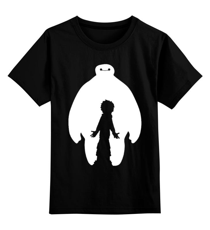 Детская футболка классическая унисекс Printio Hiro and baymax
