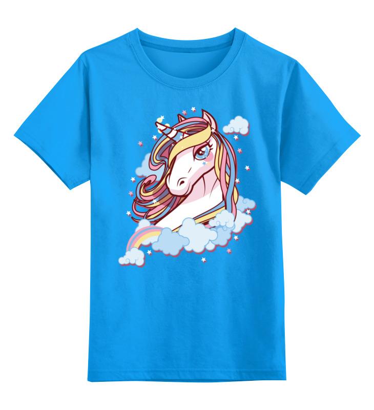 Детская футболка классическая унисекс Printio Единорог цена и фото