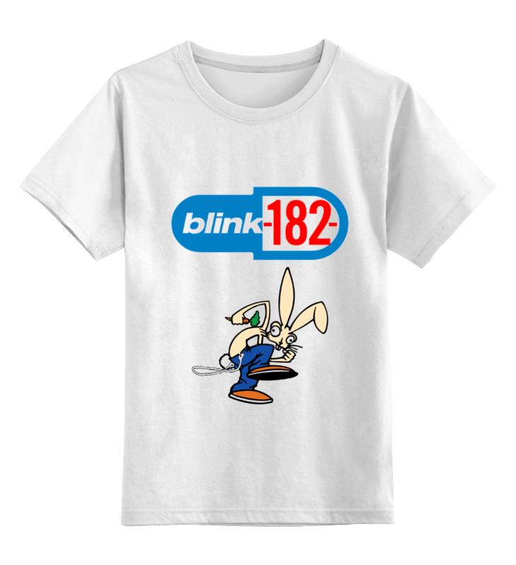 Детская футболка классическая унисекс Printio Blink-182 rabbit детская футболка классическая унисекс printio blink 182 band