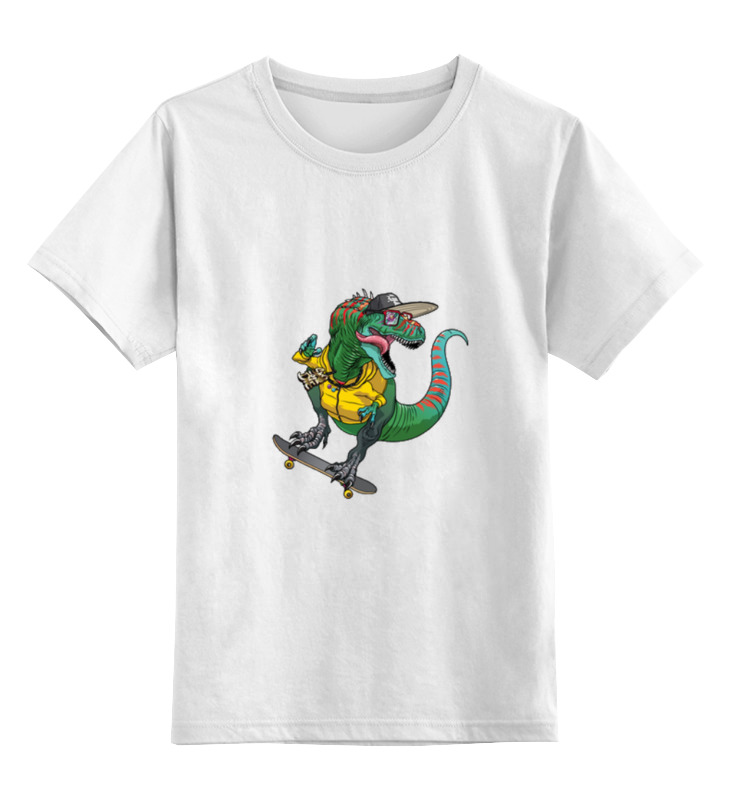 Детская футболка классическая унисекс Printio Динозавр детская футболка классическая унисекс printio на земле с 1987