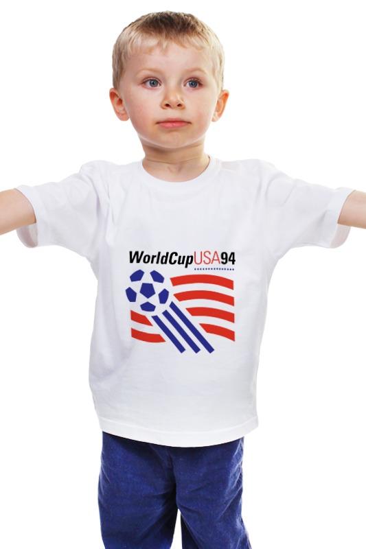 Детская футболка классическая унисекс Printio Чемпиона европы по футболу 1994 год фольксваген пассат б4 1994 года