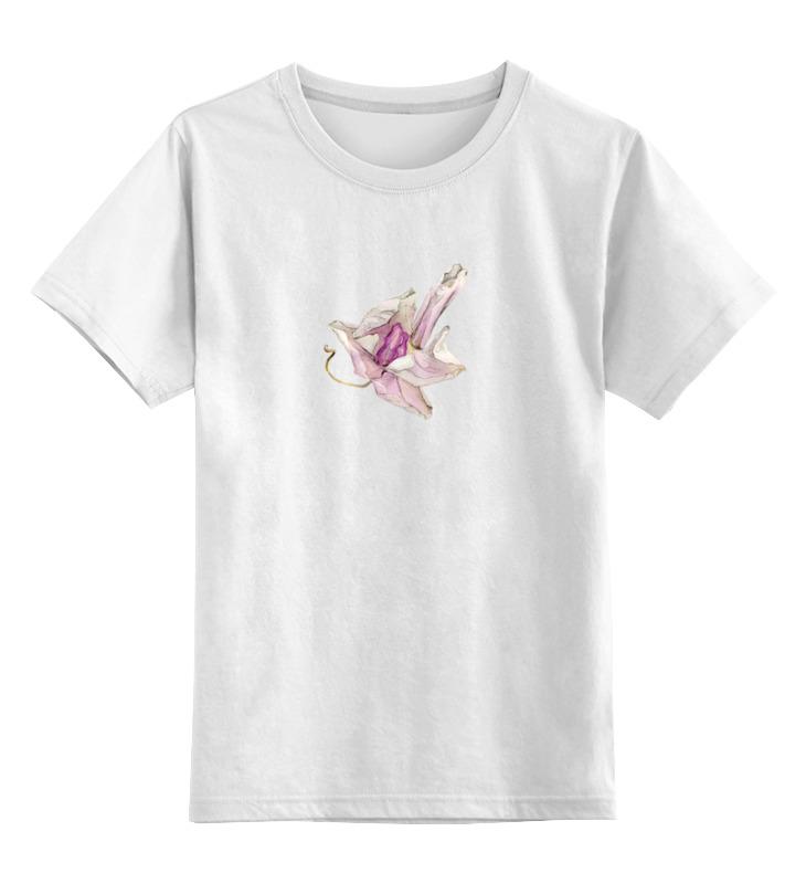 Детская футболка классическая унисекс Printio Орхидея высушеная phalaenopsis футболка рингер printio орхидея высушеная phalaenopsis