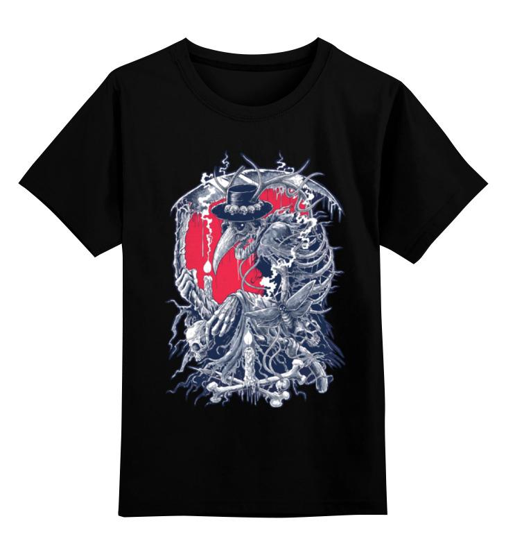 Детская футболка классическая унисекс Printio Чумной доктор цена
