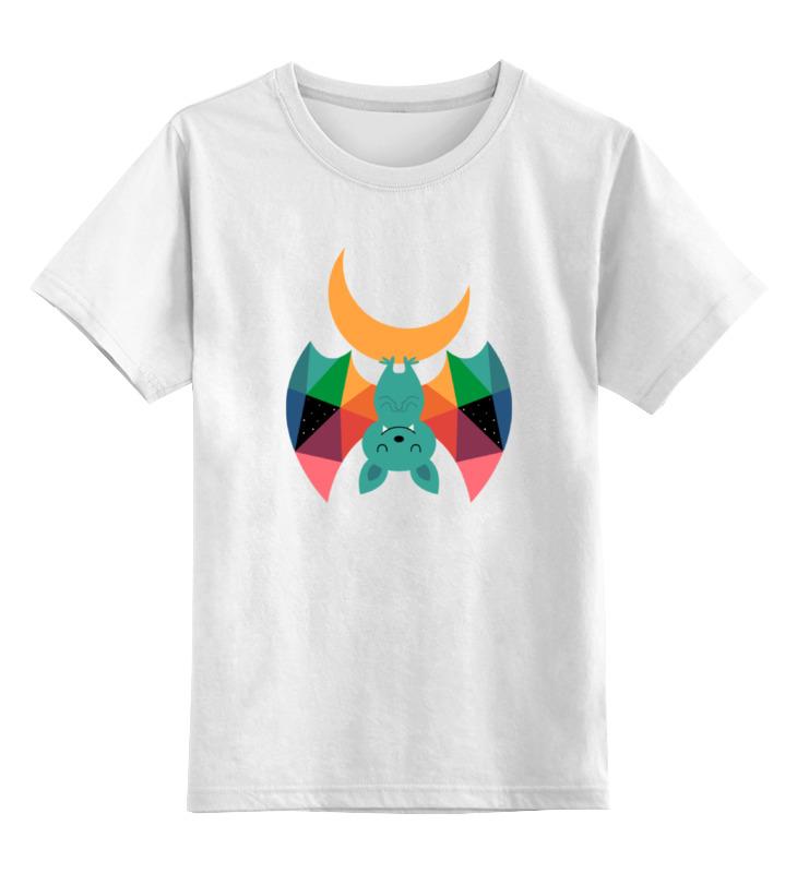 Детская футболка классическая унисекс Printio Летучая мышь