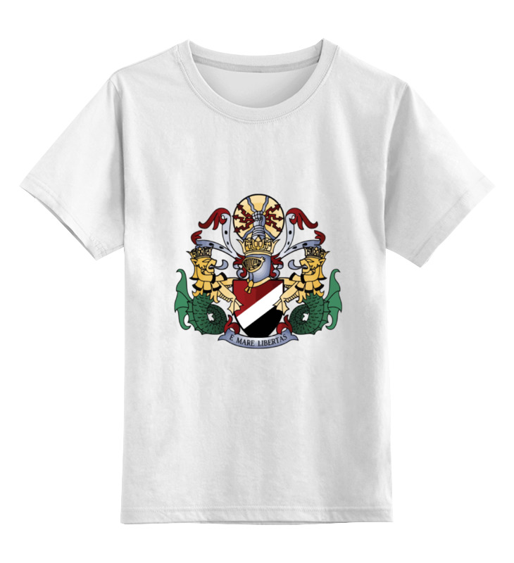Детская футболка классическая унисекс Printio Sealand white 007 rotary double side suction cup car mount holder white
