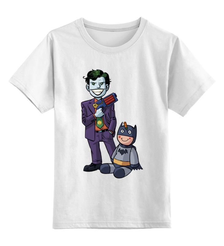 Детская футболка классическая унисекс Printio Джокер и бэтмен футболка print bar бэтмен и джокер