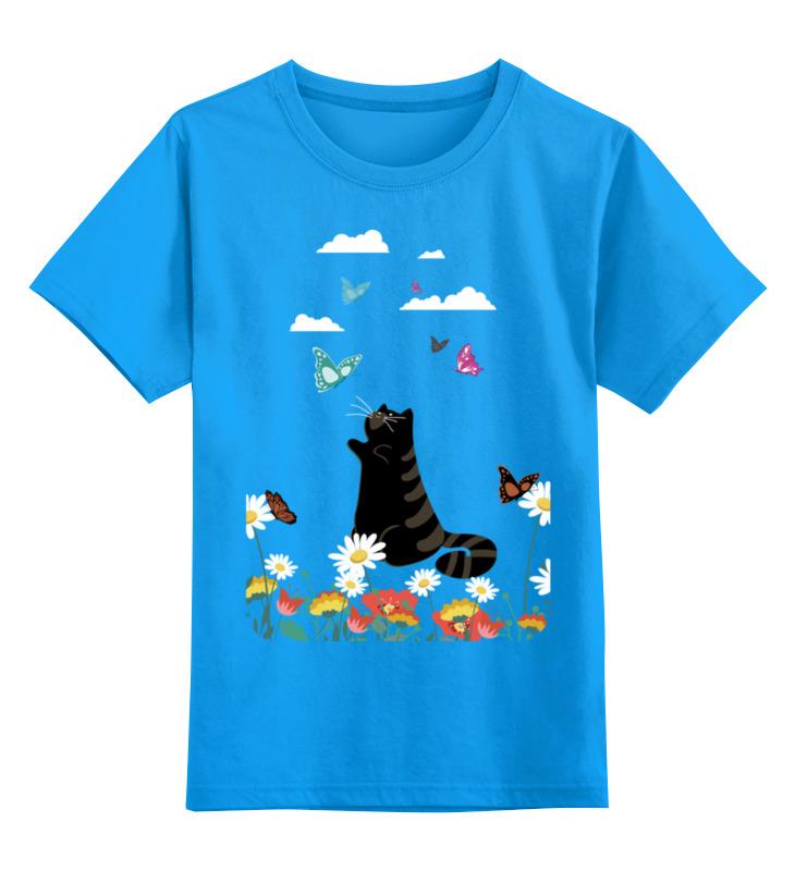 Детская футболка классическая унисекс Printio Лето блуза peperuna блуза