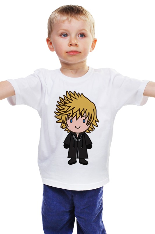 Детская футболка классическая унисекс Printio Рохас (kingdom hearts)