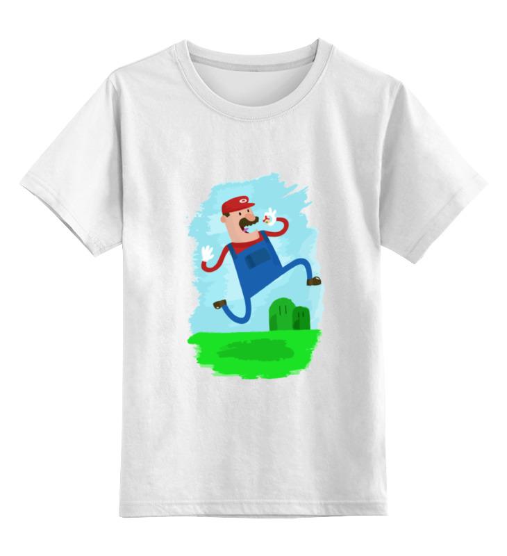 Детская футболка классическая унисекс Printio Марио (mario) детская футболка классическая унисекс printio марио