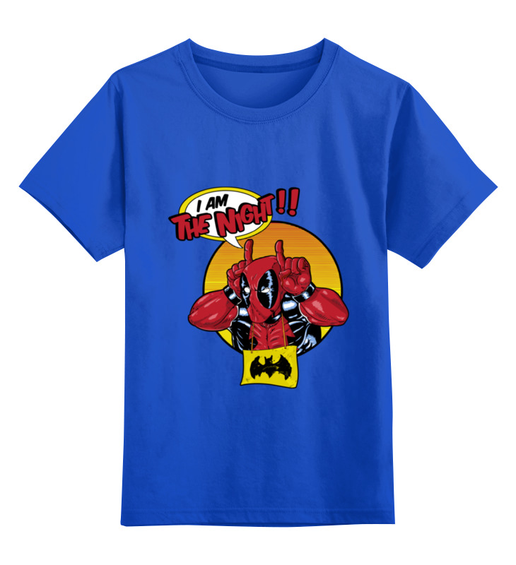 Детская футболка классическая унисекс Printio Deadpool the night детская футболка классическая унисекс printio night watch